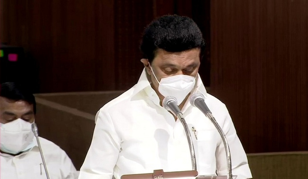 Stalin, MLAs take oath in Assembly