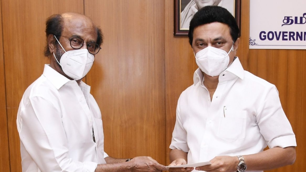 Rajinikanth donates Rs 50 lakh towards Tamil Nadu CM's COVID-19 relief fund