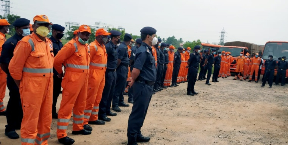 NDRF teams deployed to Tamil Nadu and Kerala impending Cyclone 'Tauktae' on Friday.
