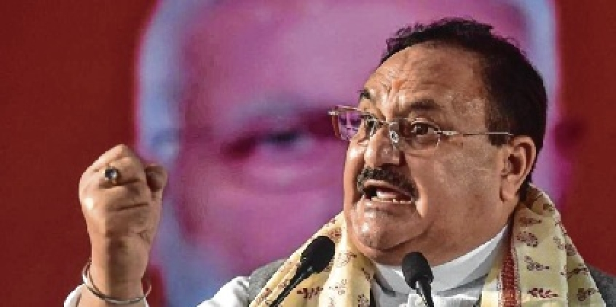 Cong creating false panic against virus, says Nadda 20 days after Sonia's letter