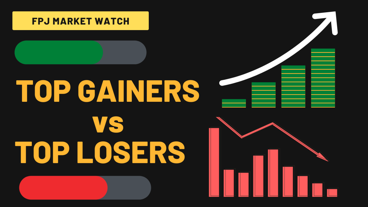 Stock market movers: Top 10 winners and losers on BSE, NSE on May 25