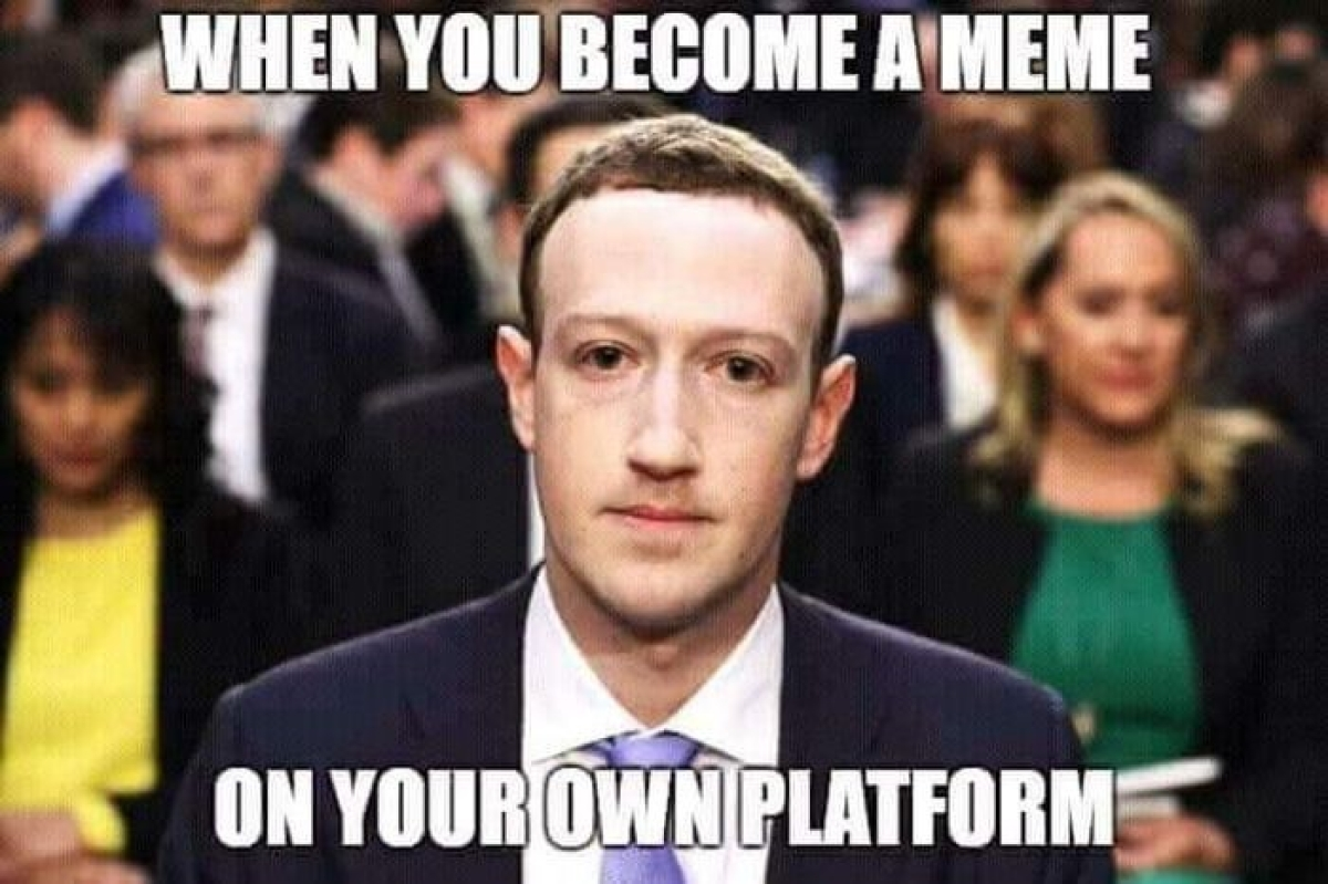 Reference to the Facebook Cambridge Analytica Data Scandal