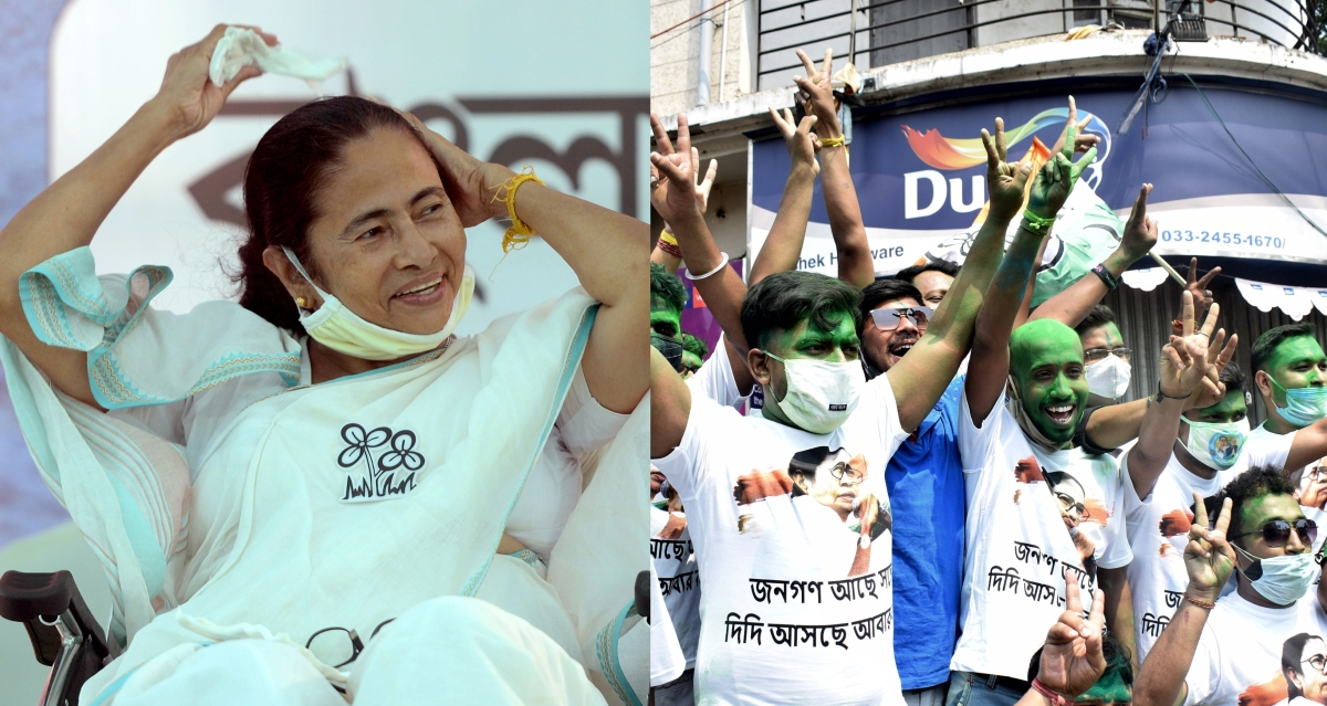 'Our priority is to fight COVID-19': After Nandigram win, Mamata Banerjee urges elated TMC workers to avoid rallies