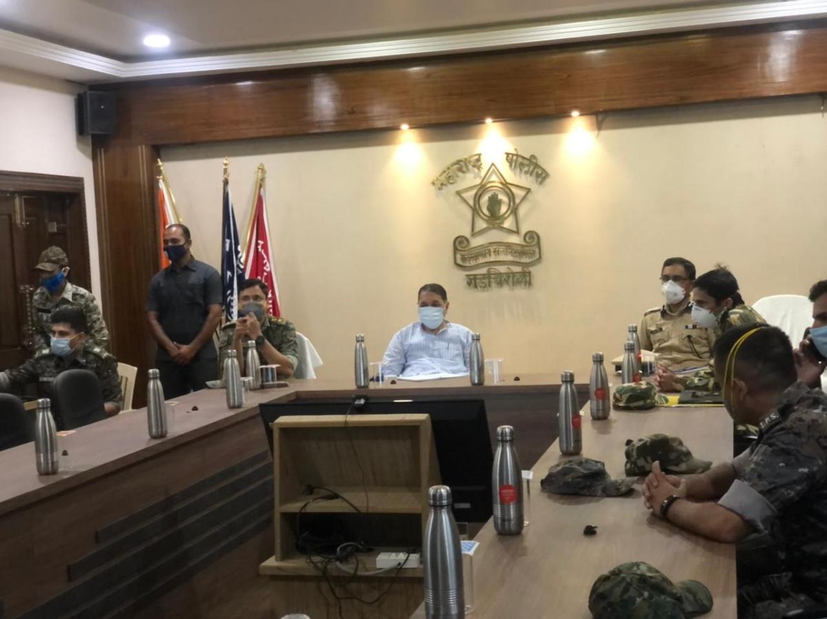 Maharashtra HM Dilip Walse-Patil praises Gadchiroli police, C-60 commandos for action against Naxals