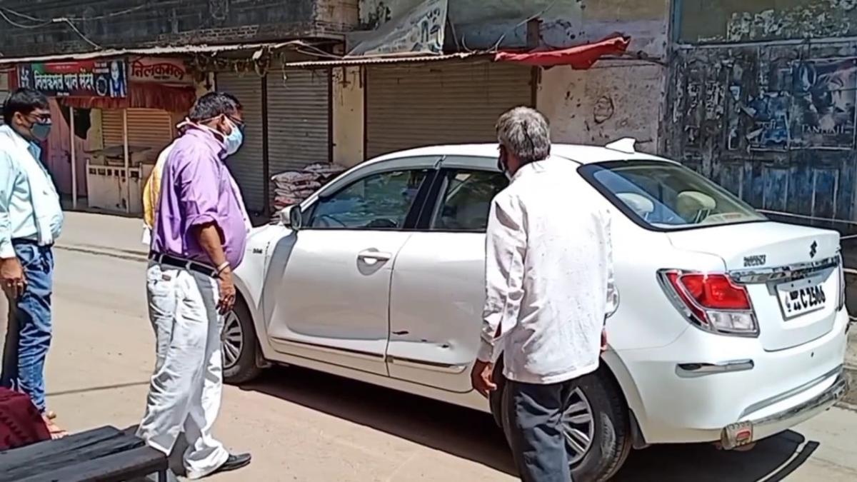 Barwani: Silence prevails in marriage halls of Khetia on Akshay Tratiya, Eid celebrated peacefully