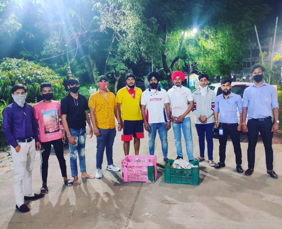 Coronavirus in Indore: 'Students Helping Hands' reaches out to the underprivileged families in the city