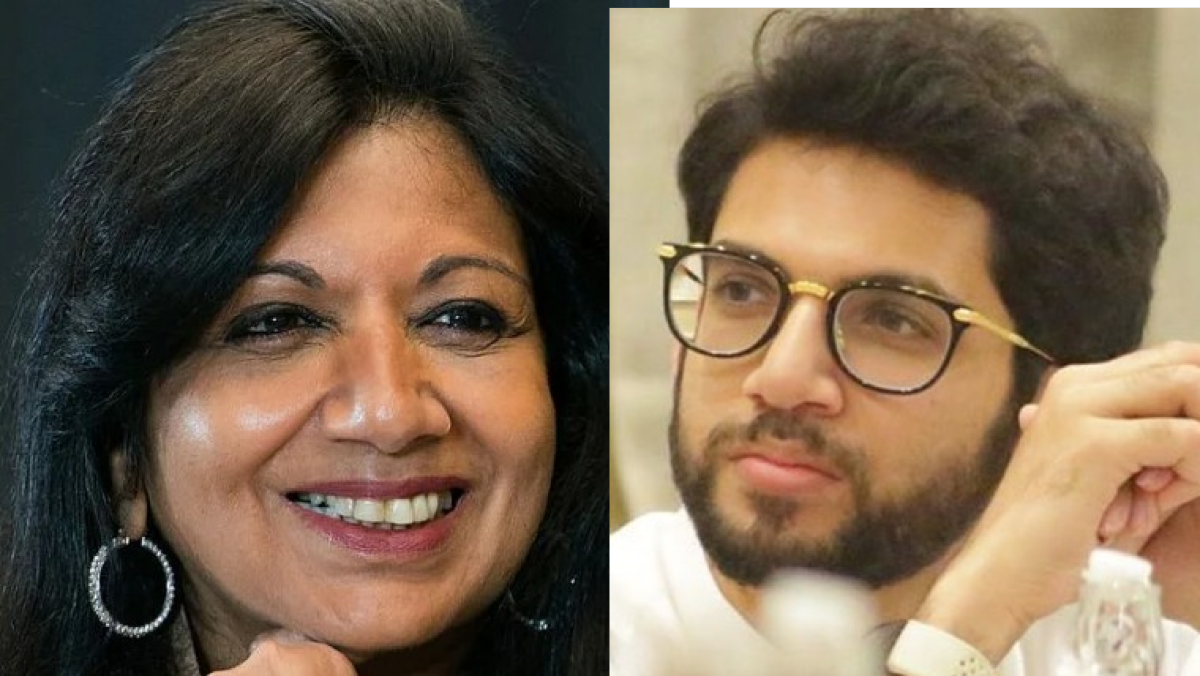 COVID-19: Kiran Muzumdar Shaw 'super impressed' with 'Mumbai model'; check out Aaditya Thackeray's reaction