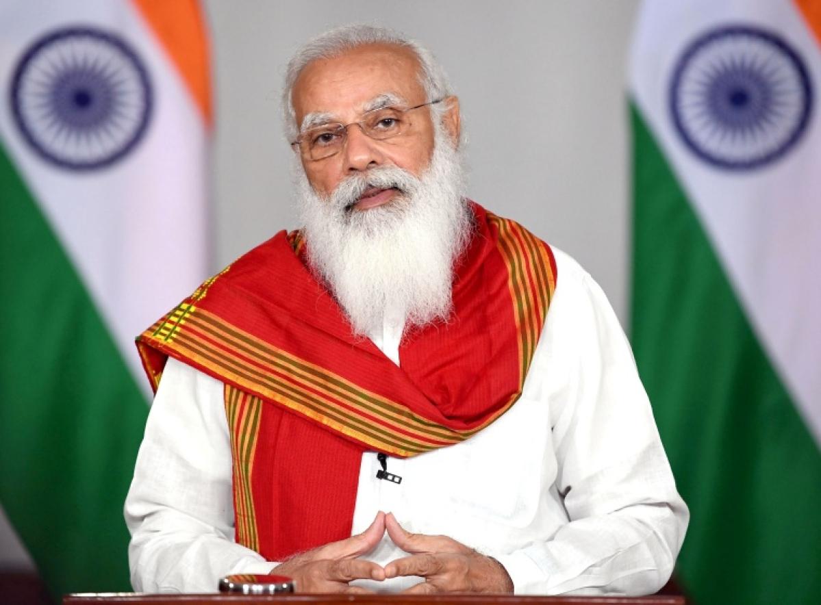 PM Modi, French Prez Emmanuel Macron discuss positive outcomes of India-EU Leaders' meet