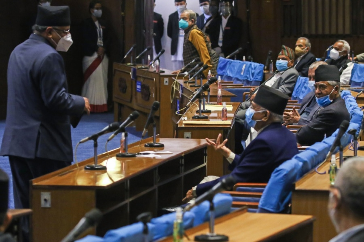 All eyes on Nepal President as ruling party, opposition stake claims to form government