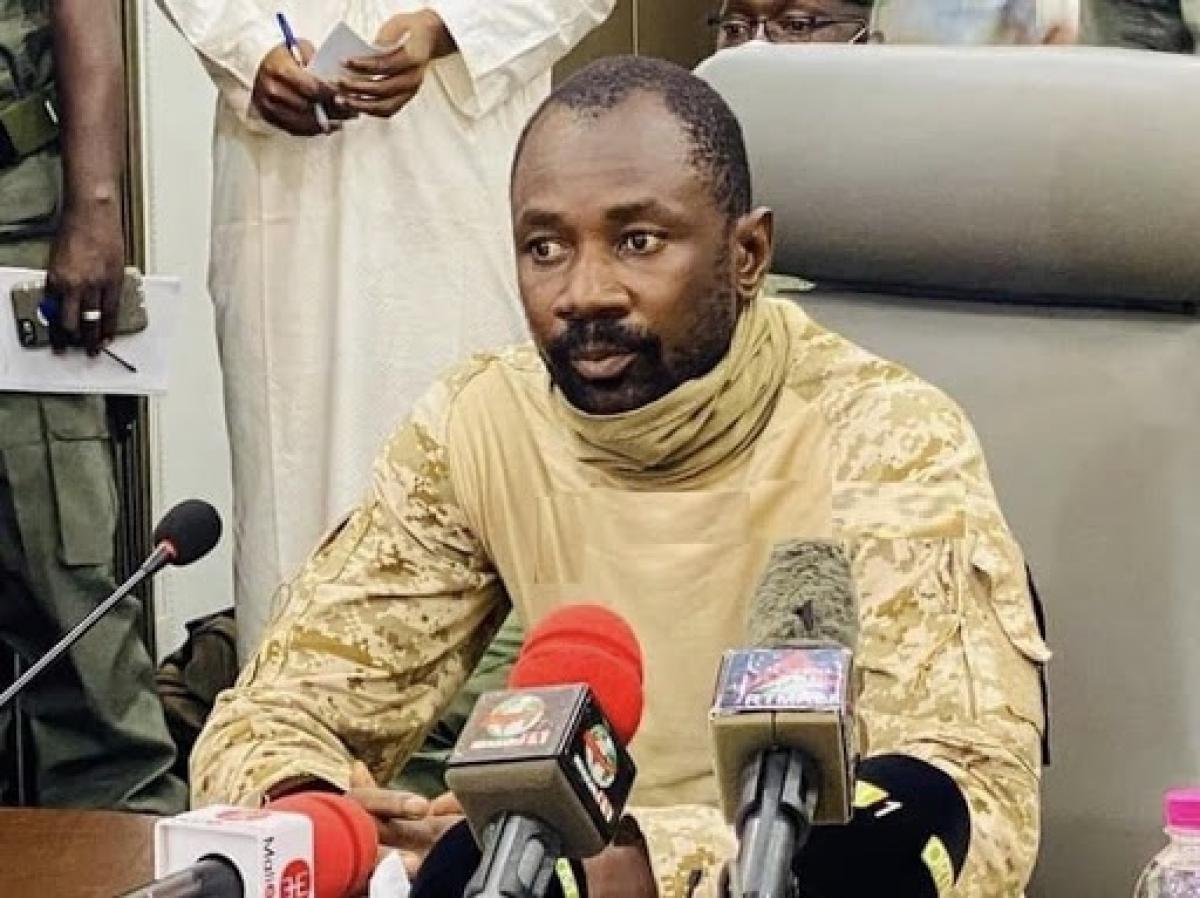 Mali coup leader named interim President