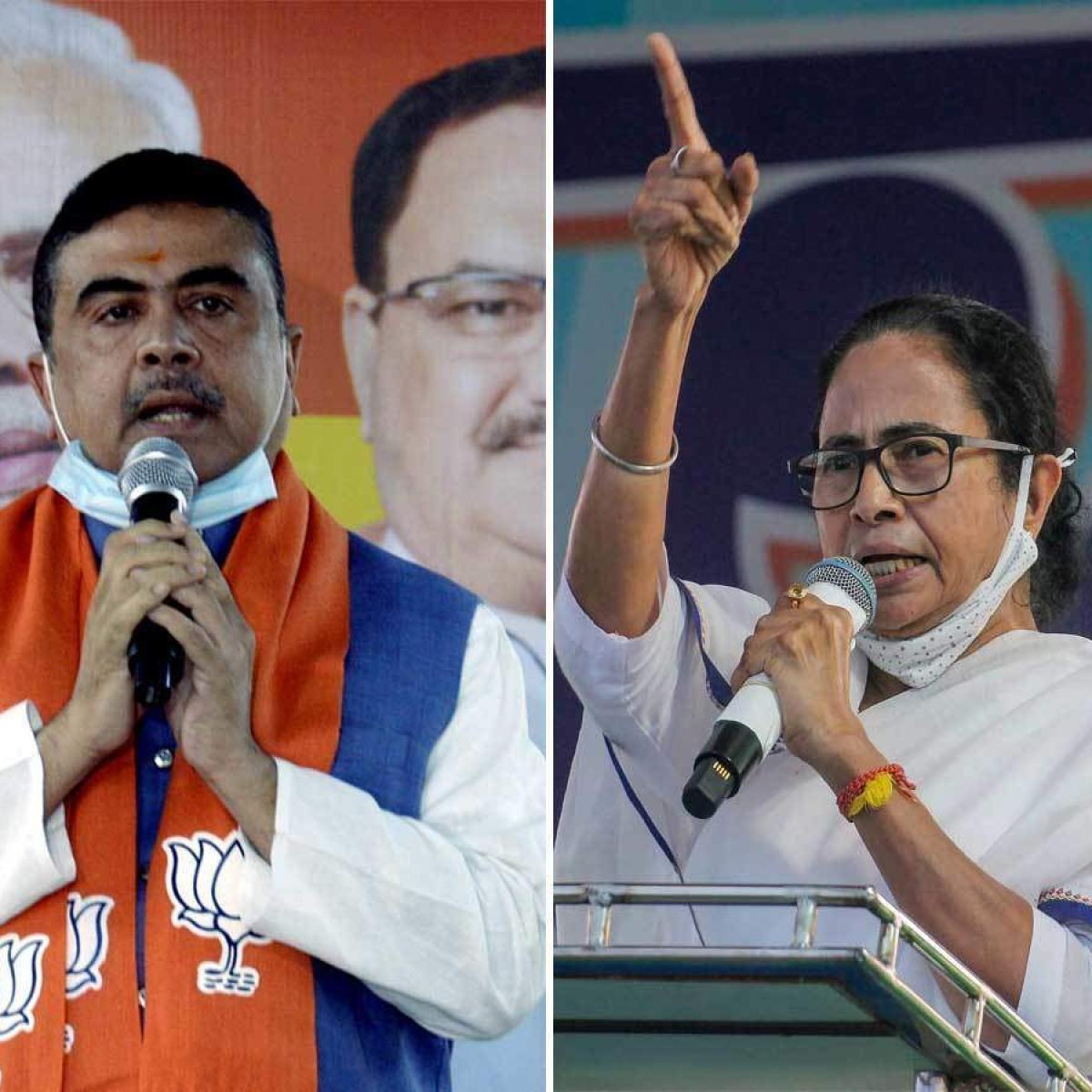 West Bengal Elections: In early counting, Mamata Banerjee trailing BJP's Suvendu Adhikari in Nandigram