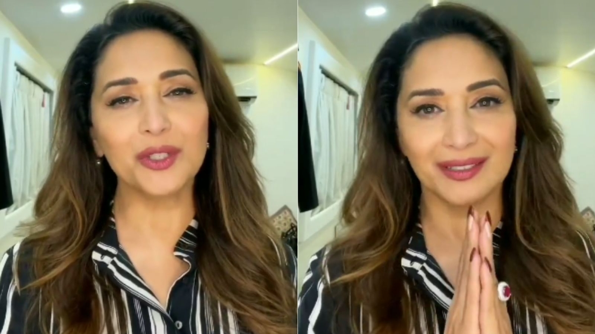 Madhuri Dixit Nene extends message of gratitude after 54th birthday, urges fans to be safe