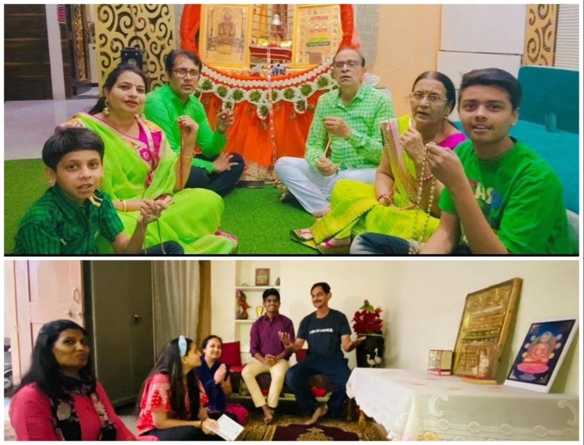 Madhya Pradesh: 3,000 devotees join online mahamantra recitation in Mandsaur