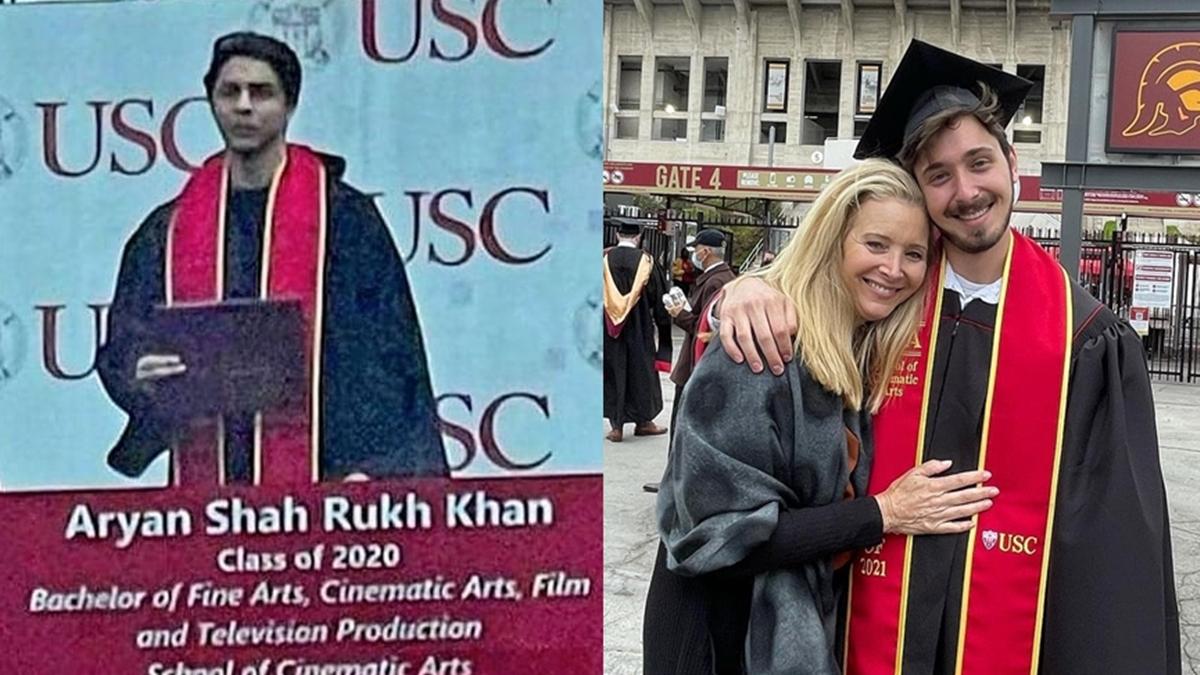 Shah Rukh Khan's son Aryan Khan's graduation picture has a 'Friends' connection