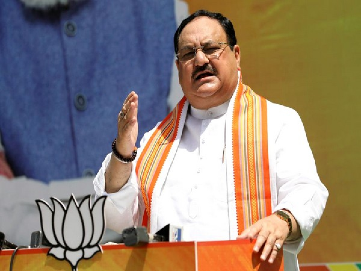 Expose Opposition's conspiracy against Covid vaccination drive, containment plan, Nadda tells BJP workers