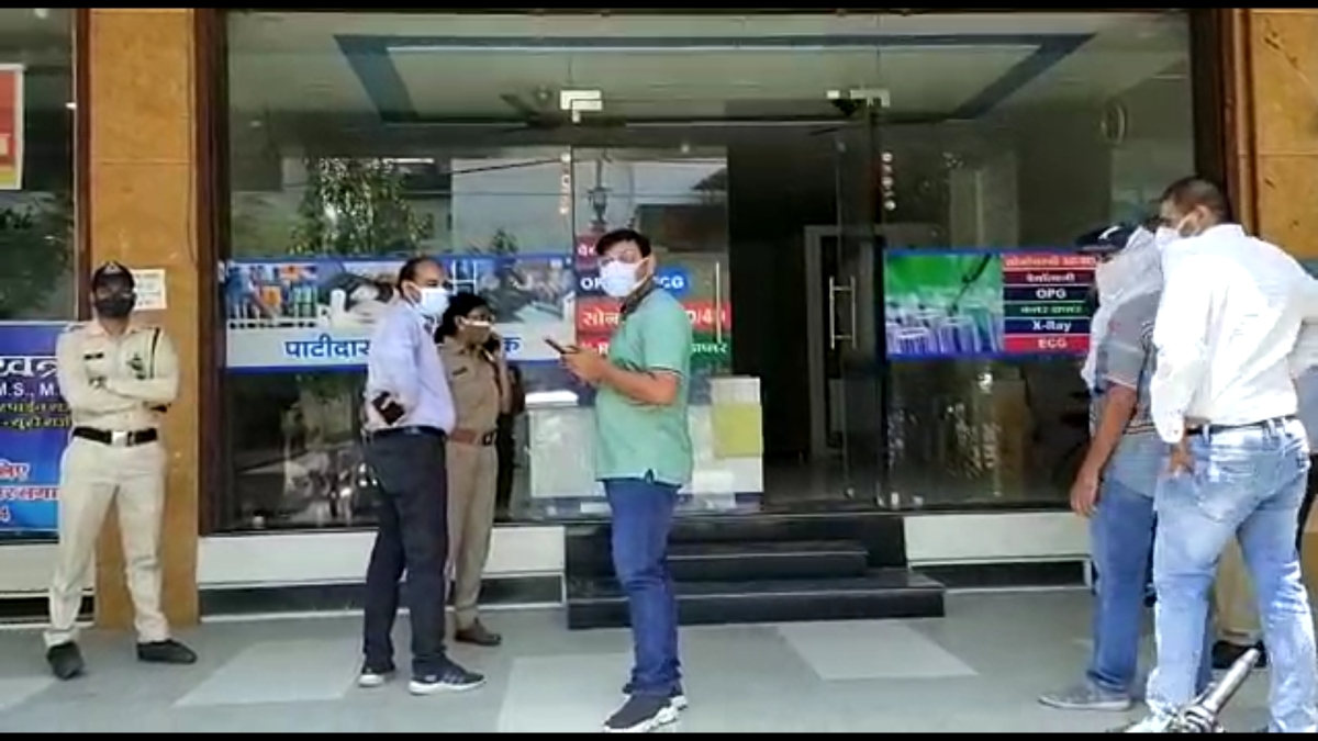 Ujjain: Diagnostic centre conducts Covid-19 test sans permission, medical store sells oximeter at a premium, sealed