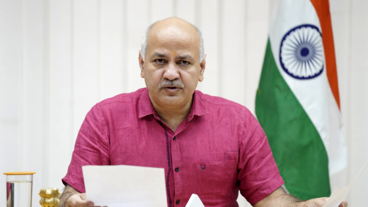 Number of fresh COVID cases down to 10,400 in Delhi, O2 requirement 582 MT: Manish Sisodia