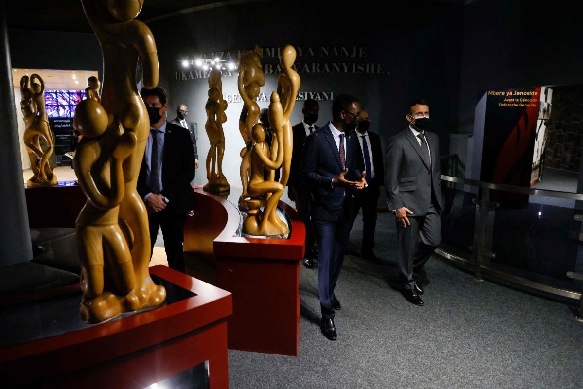 French Prez Emmanuel Macron admits some guilt for Rwanda's genocide