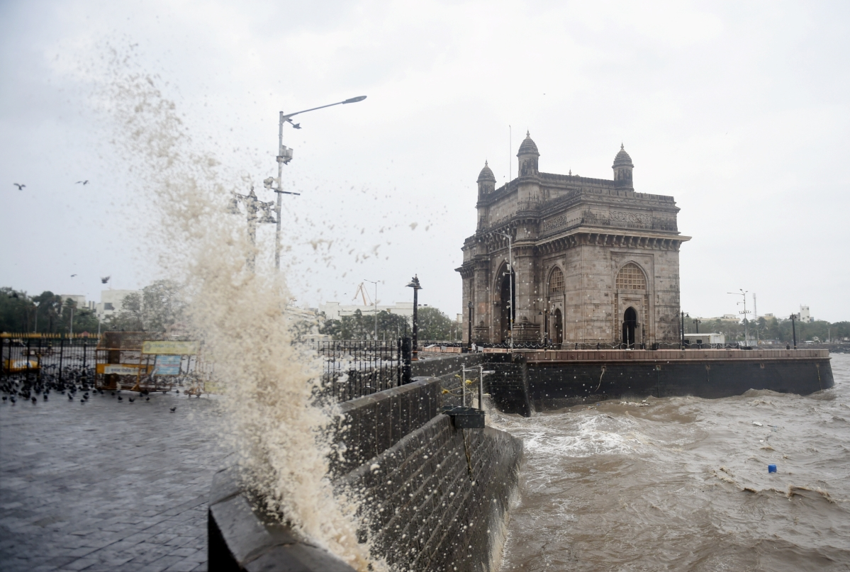 A view from Mumbai's iconic Gateway of India