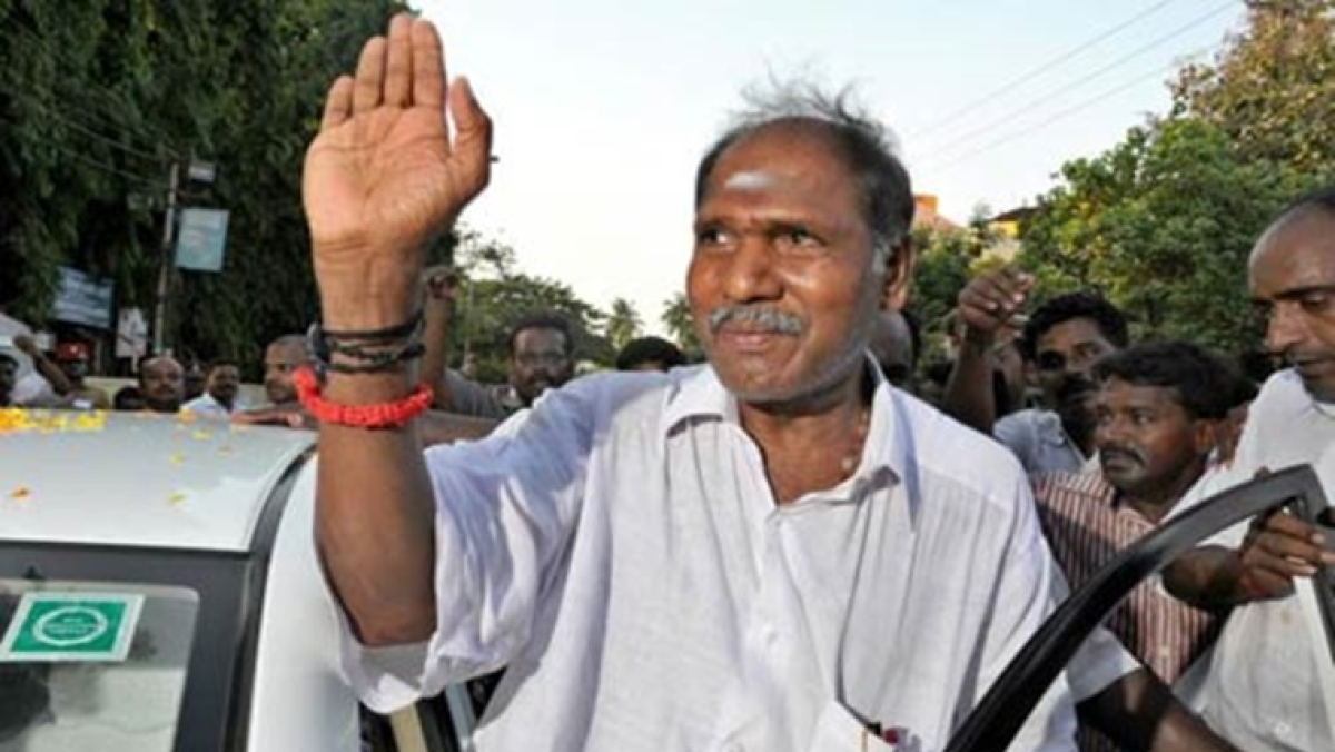 All India NR Congress chief N Rangaswamy