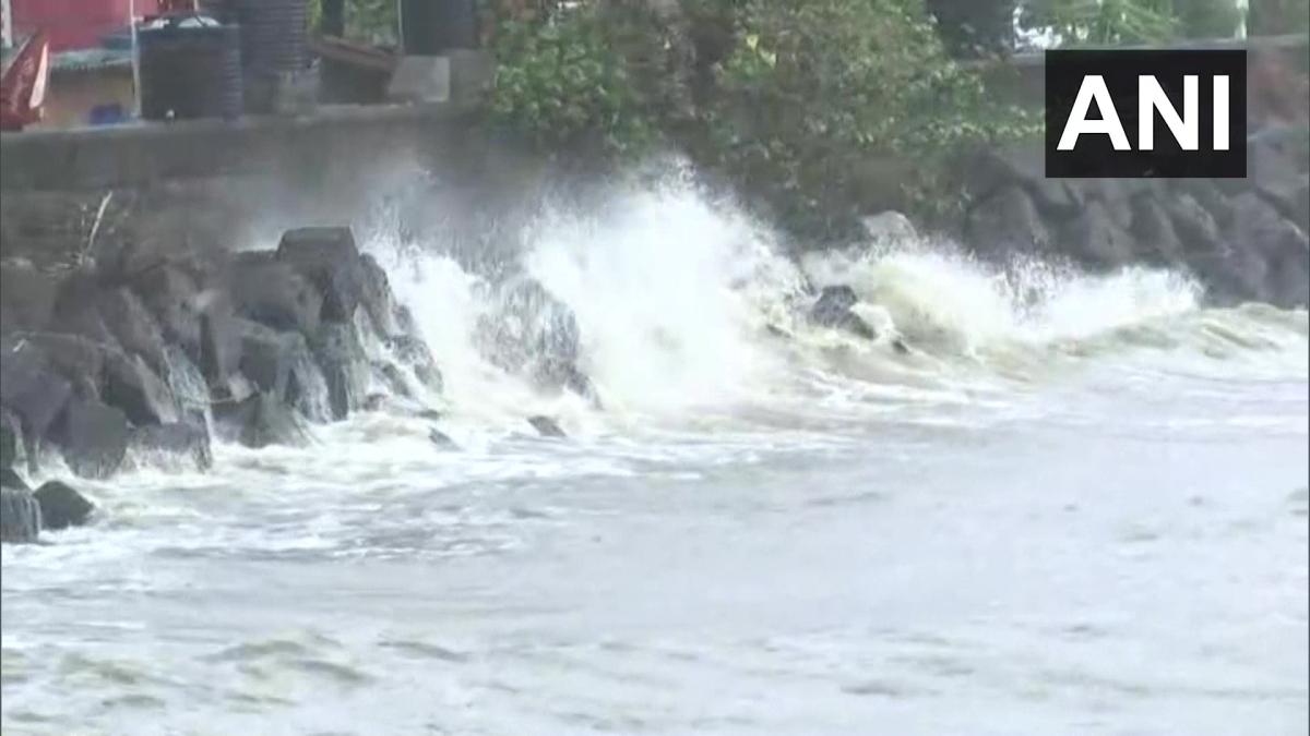Cyclone Tauktae hit coastal parts of Goa. Visuals from Panaji on May 16, 2021.