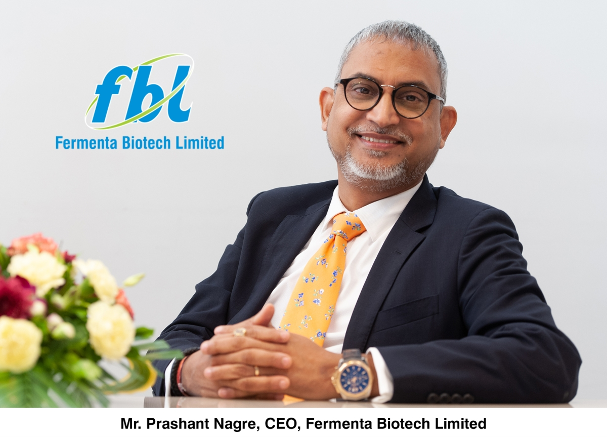 Prashant Nagre elevated to the position of MD of Fermenta Biotech