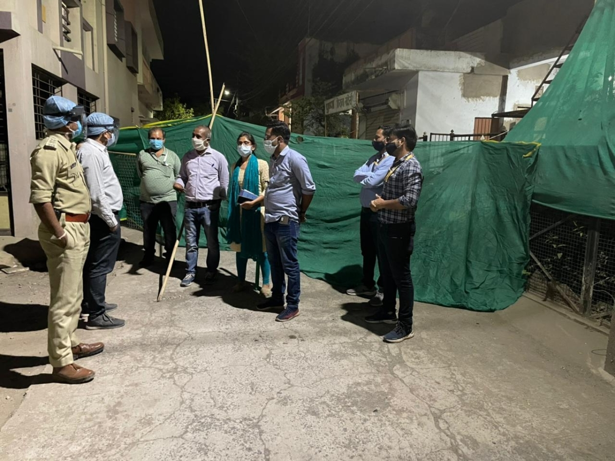 District administration is laying emphasis on creating micro containment areas in localities where more than one case of Covid-19 is found
