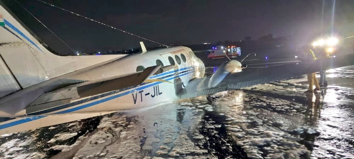 Full emergency declared for Hyderabad-bound air ambulance from Nagpur, landed safely at Mumbai Airport