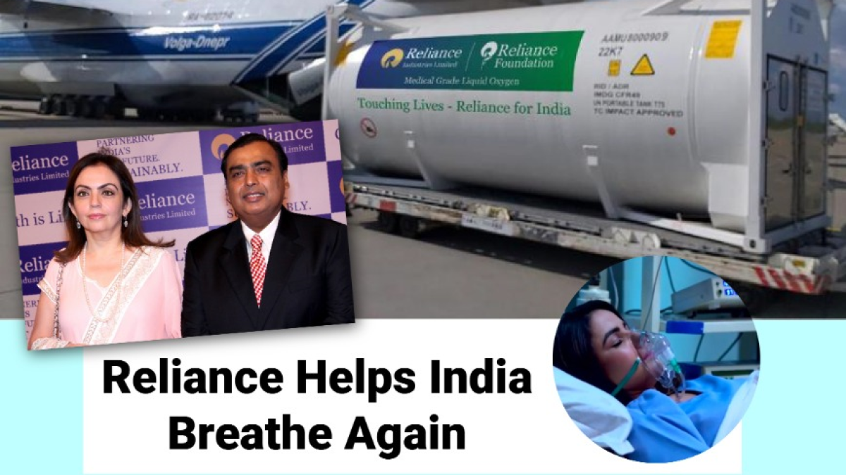 Reliance ramps up production of medical-grade oxygen to 1,000 tonnes a day