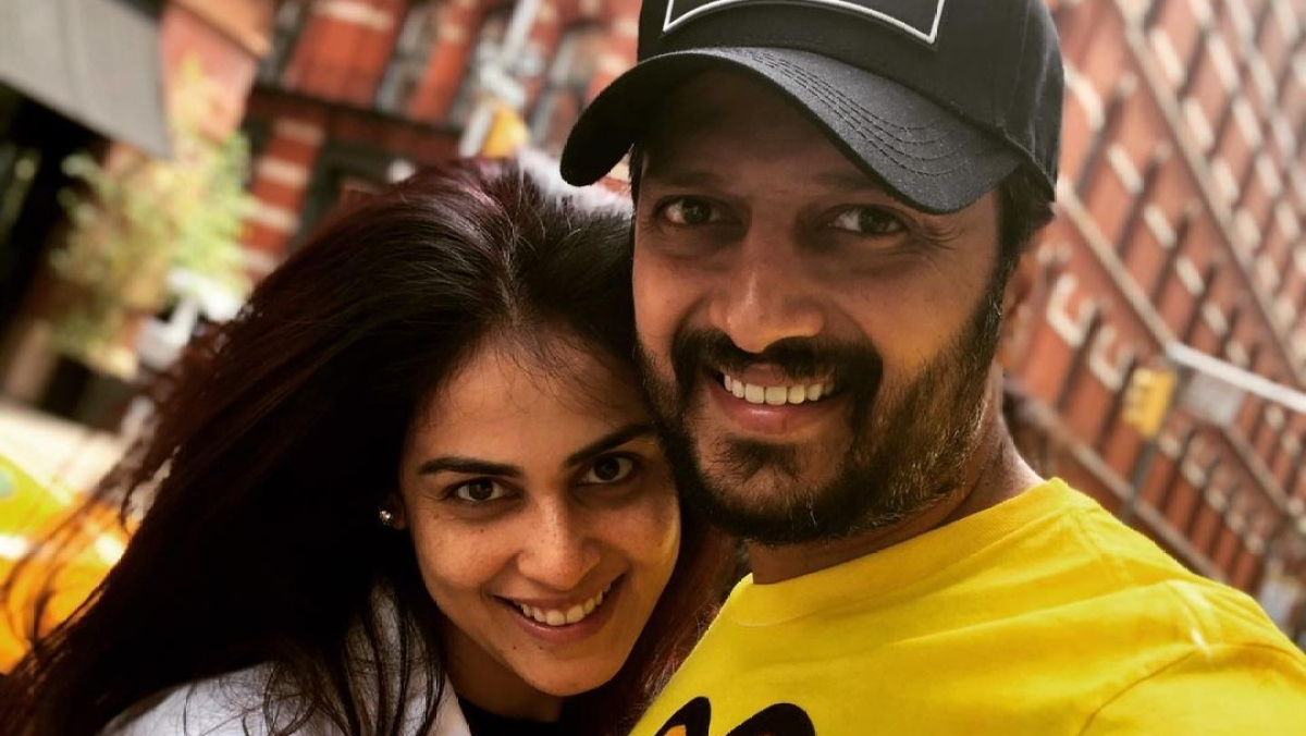 Riteish Deshmukh gives shoutout to wife Genelia on Mother's Day, says 'being a father is walk in the park'