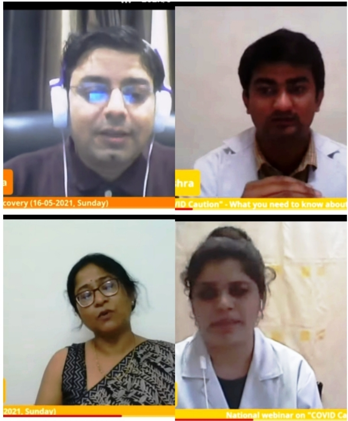Subject experts share their views during national webinar on Covid Caution