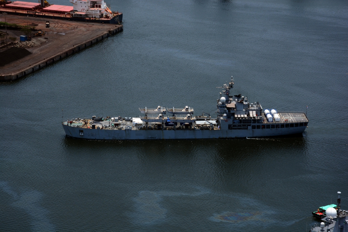 Operation Samudra Setu II: Indian Naval Ship Trikand arrives in Mumbai with 40 MT liquid oxygen from Qatar