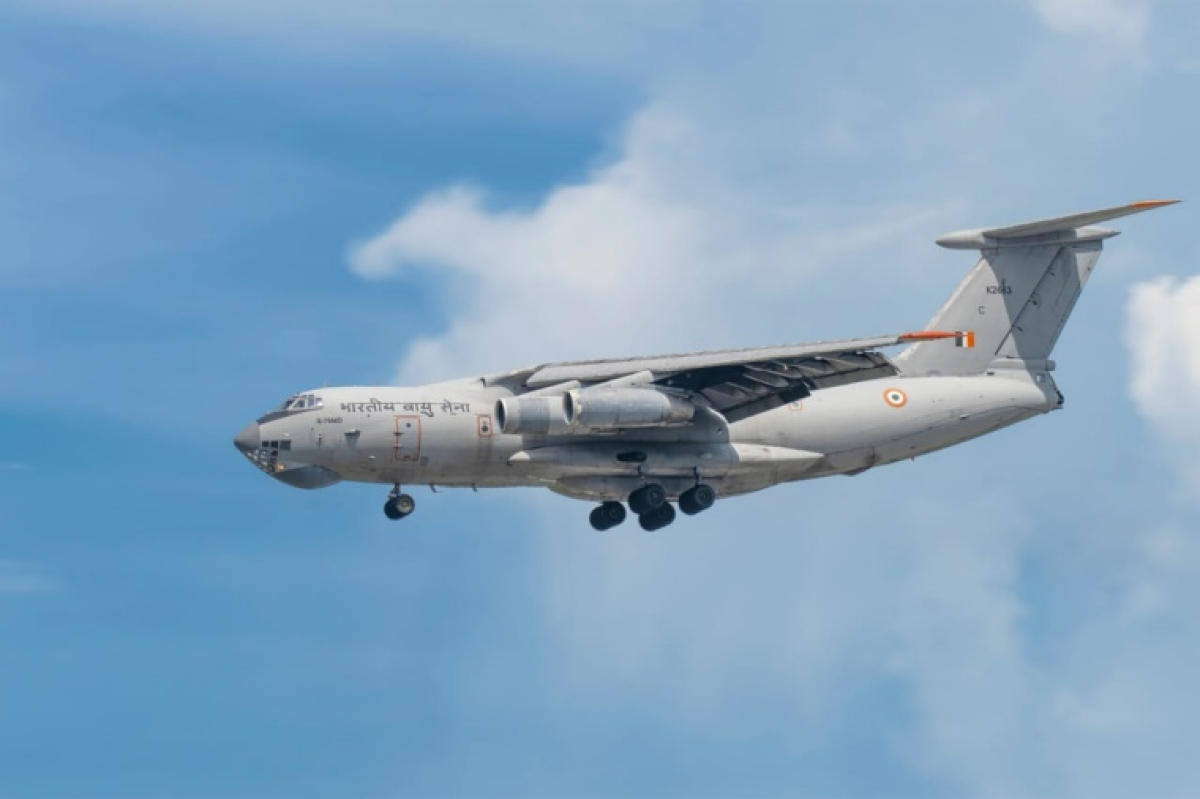COVID-19: Indian Air Force brings 4 cryogenic oxygen containers from Germany