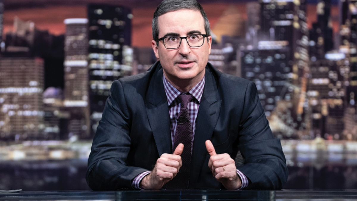 John Oliver called out by 10-year-old girl over 'war crime' comments about Israel-Palestine conflict