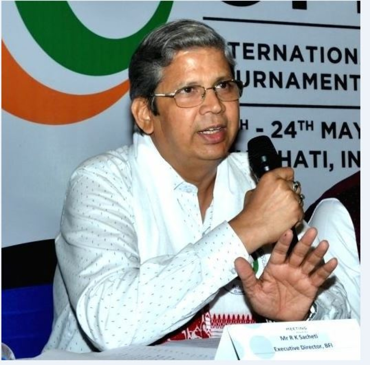 R K Sacheti, the The Boxing Federation of India's Executive Director