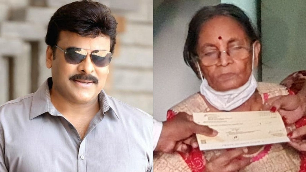 Chiranjeevi comes to the aid of actor Pavala Syamala, donates over Rs 1 lakh amid her financial struggles