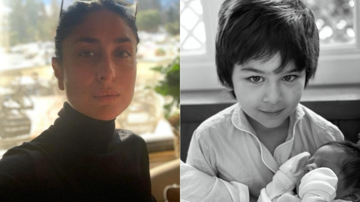 Kareena Kapoor Khan shares Taimur's pic with baby brother on Mother's Day; Anushka Sharma reacts