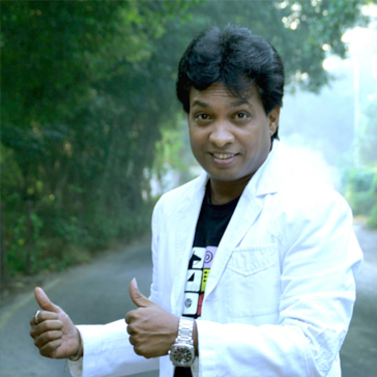 Mumbai: Comedian Sunil Pal appears before Andheri Police to record statement in defamation case