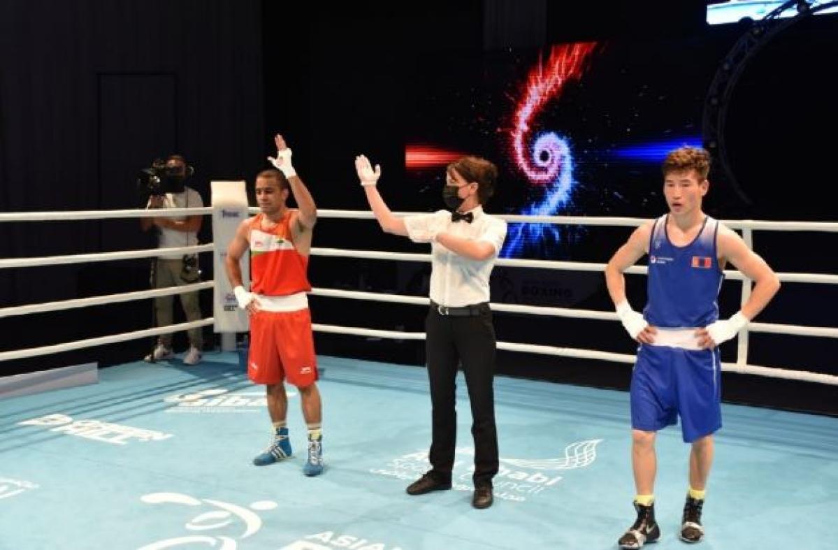 Defending champion Amit Panghal