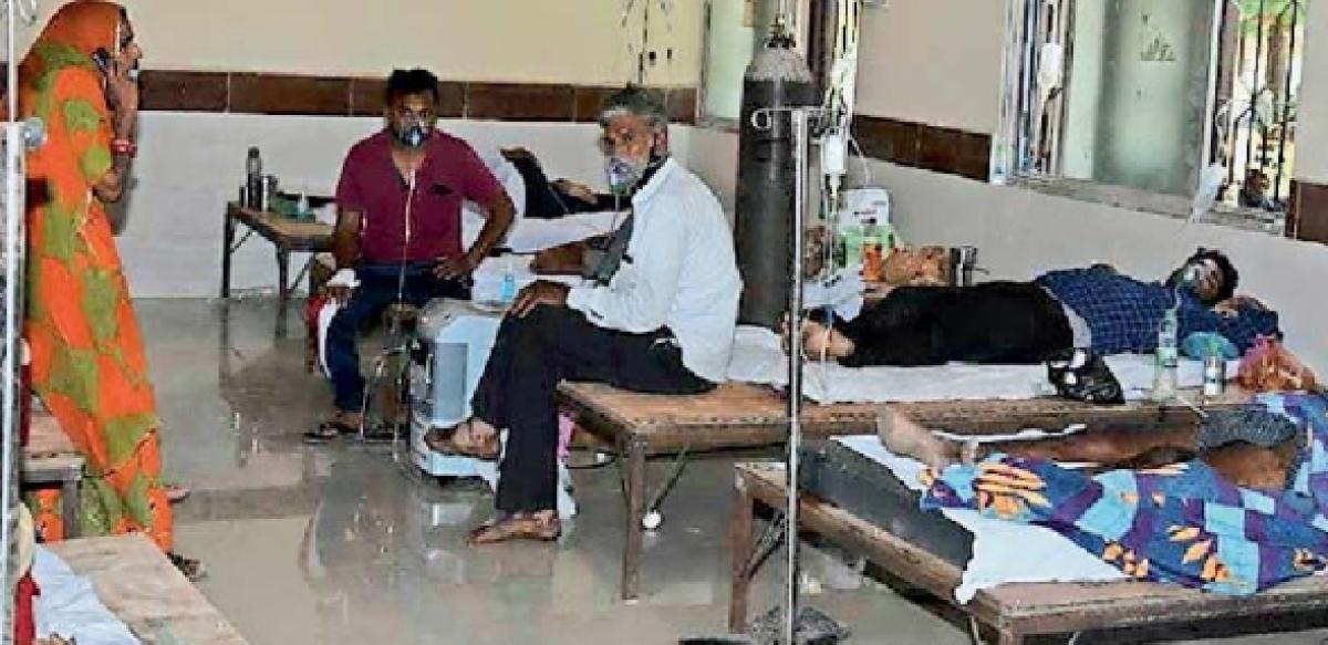 Madhya Pradesh: Covid ward grapples with manpower crunch in Jaora
