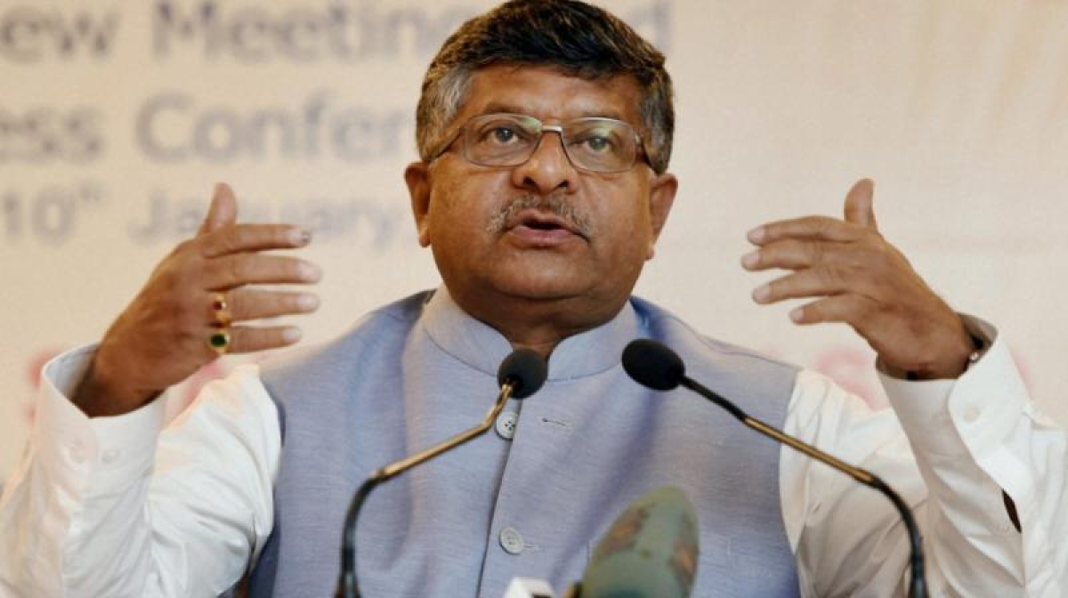 IT Minister Ravi Shankar Prasad