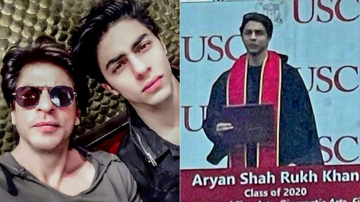 Shah Rukh Khan's son Aryan is now a USC graduate, see viral picture from ceremony