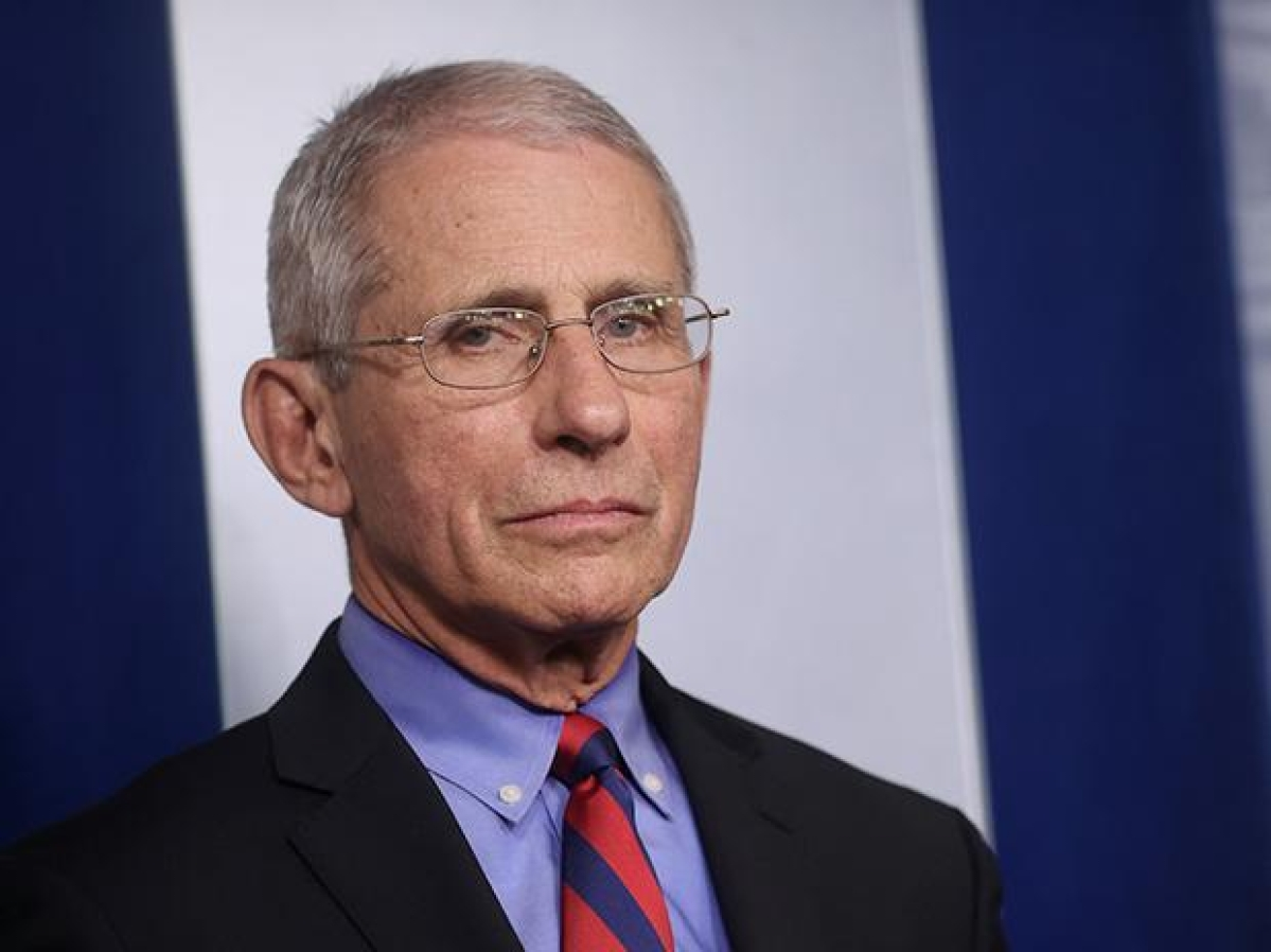 America's top public health expert and White House Chief Medical adviser Dr Anthony Fauci