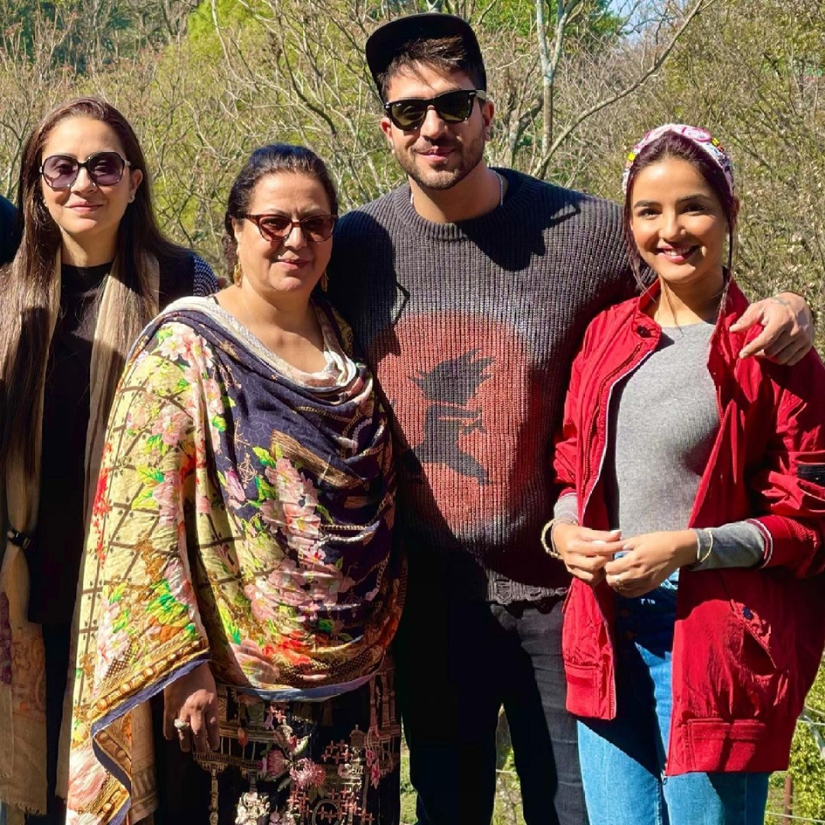 Aly Goni reveals his mom, sister and other family members have tested positive for COVID-19