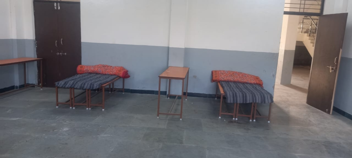 An isolation centre in Alot tehsil