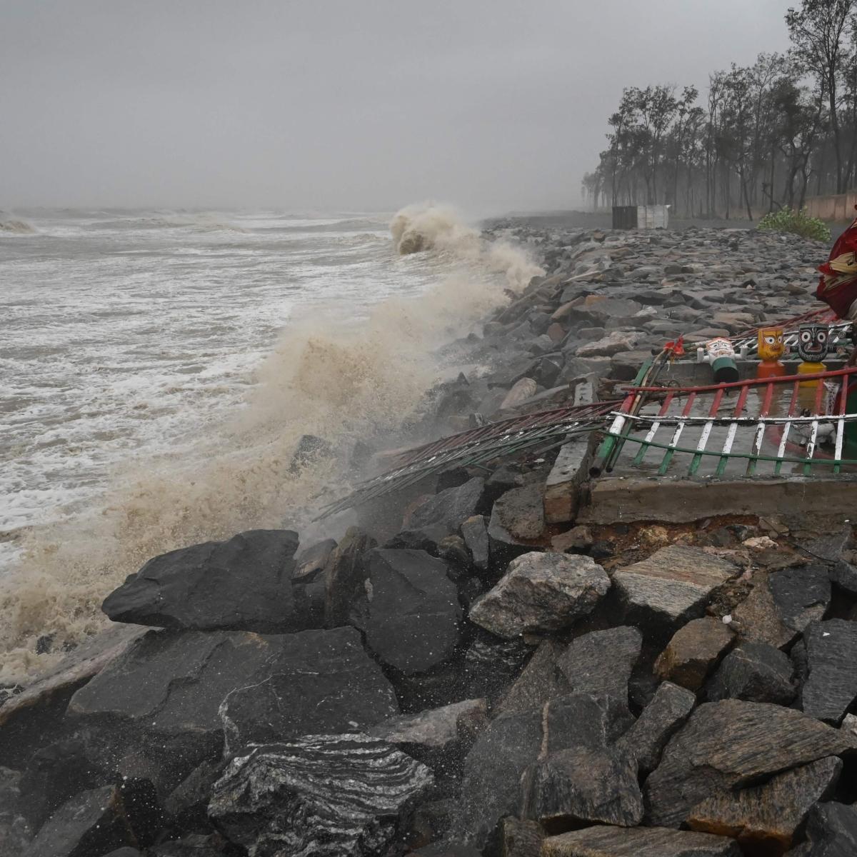 Cyclone Yaas weakens into severe cyclonic storm, says IMD