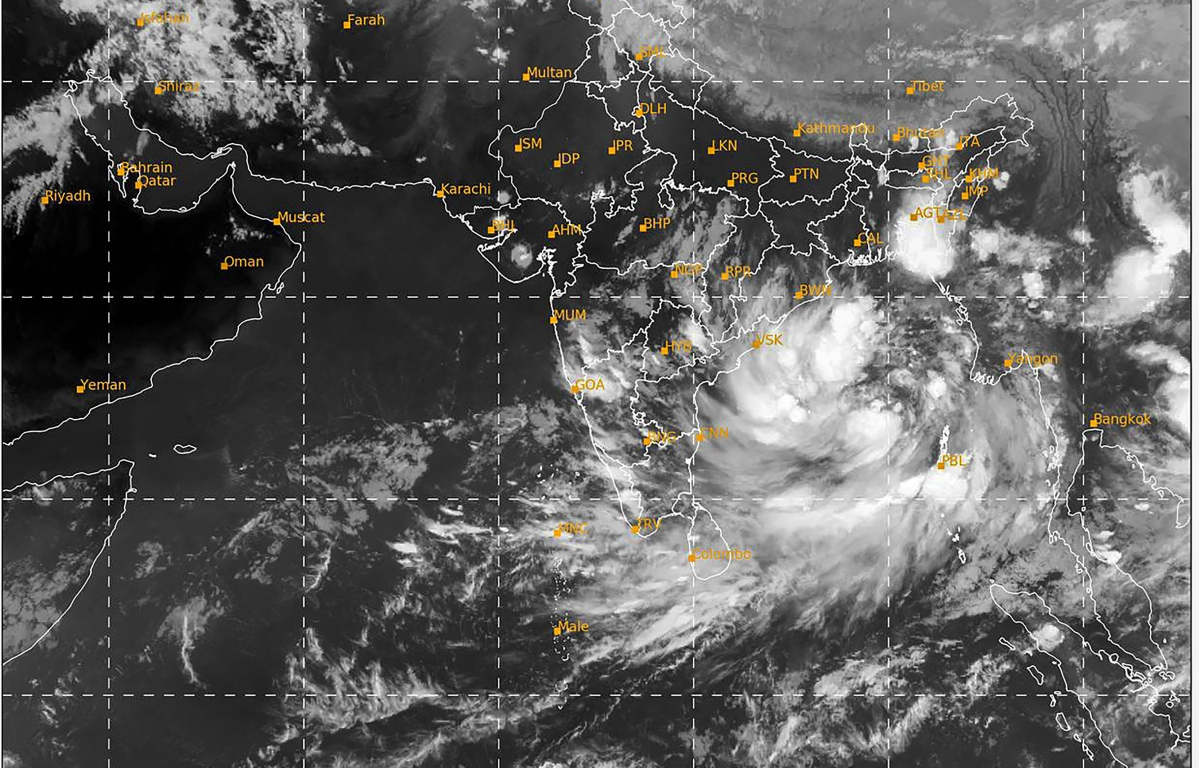 Cyclone Yaas: Deep depression over Bay of Bengal to intensify into 'severe cyclonic storm' during next 24 hrs, says IMD