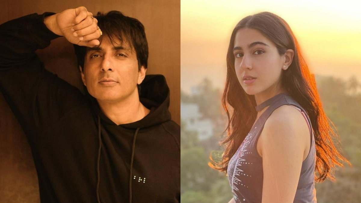 Sonu Sood thanks Sara Ali Khan for contributing to his foundation, calls her 'a hero'