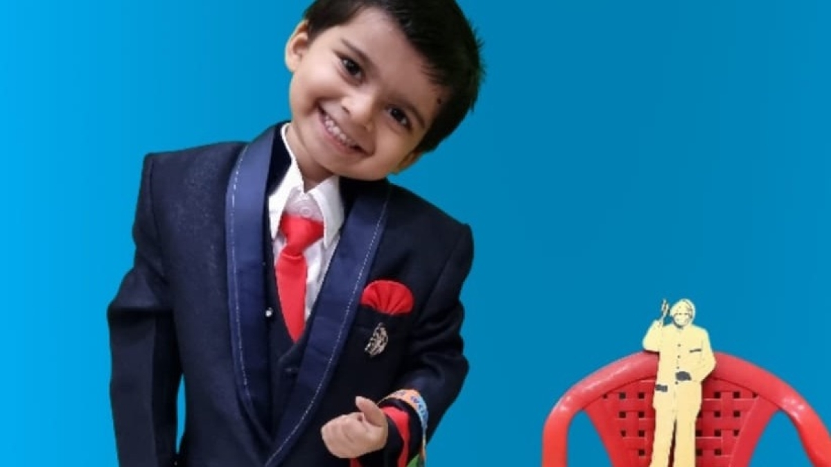 Madhya Pradesh: Two-year-old kid of Ratlam sets world records of Youngest Multi-Talented Boy and Genius Kid with Extra Ordinary Grasping Power