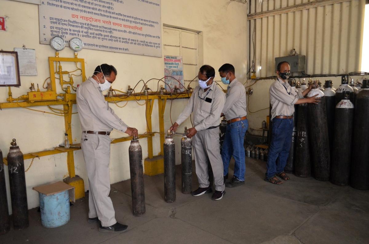 BHEL starts oxygen supply to hospitals